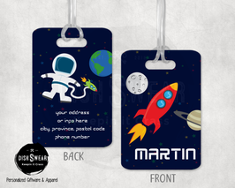 Space Backpack/Luggage ID Tag