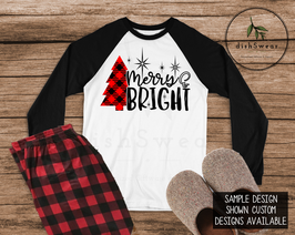 Merry & Bright-Personalized Family Christmas Pajamas **PRE-ORDER PURCHASE**