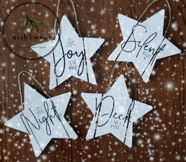 Handcrafted Farmhouse Star Wood Sign