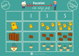 Puzzel Pakket 2 | Rekenen