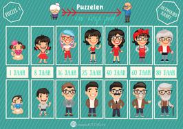 Puzzel Pakket 1 | Rekenen