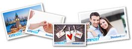 Individuelle Großbriefmarke
