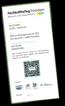 "Ticket ""FachkräfteTag Potsdam 2019"""