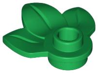 10x Blaadjes groen