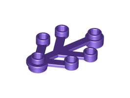 10x Boomblad 4x3 donker paars