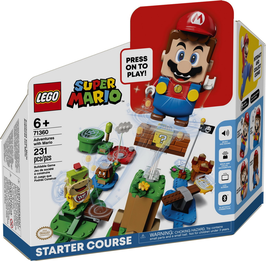 71360  Avonturen met Mario startset + gratis polybag 30385 Mushroom Surprise.