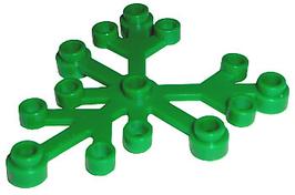 5x Boomblad 6x5 groen