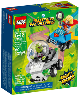 76094  Mighty Micros: Supergirl™ vs. Brainiac™