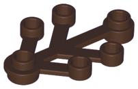 10x Boomblad 4x3 donker bruin