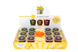 JelloShot Mix 12er Pack (je 4 cl) inkl. 12 JelloShot Sticks