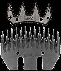 Original Lister Schermesser Messersatz für die Alpaka-Schur