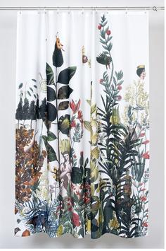 Kollektiv Vier. Duschvorhang aus Bio Baumwolle. EDEN.