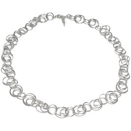 Collier / Silberkette Kreisring