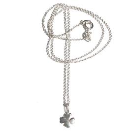 Silberkette Kleeblatt