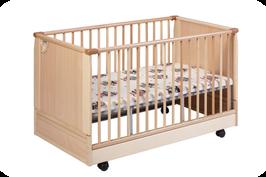 Kinderbettchen - höhenverstellbar