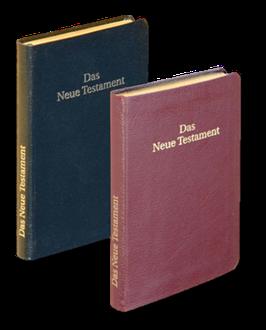 Das Neue Testament - Leder