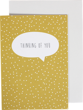 "Greeting Card ""Thinking of You"""