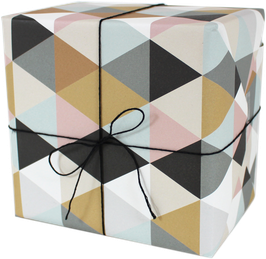 """Wrapping Paper """"Triangles"""" (3 sheets)"""