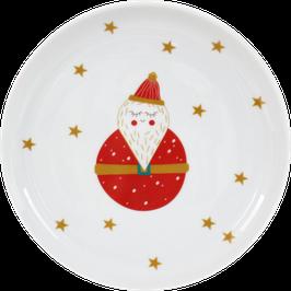 """Porcelain Plate """"Santa Claus"""""""
