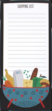 Shopping List, DIN long (50 sheet)