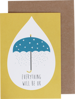 "Greeting Card ""Everything will be ok"""