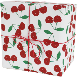 "Wrapping Paper ""Cherries"" (3 sheets)"