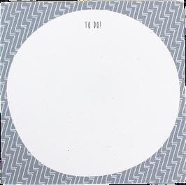 "Writing Pad ""ZZZ"" blue, 9.8 x 9,8 cm (50 sheets)"