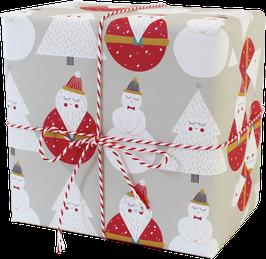 """Wrapping Paper """"Santa Claus"""" (3 sheets)"""