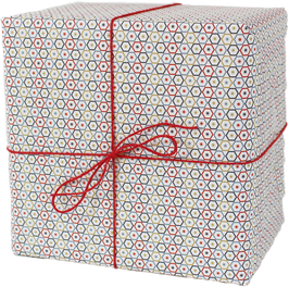 "Wrapping Paper ""Hexagon"" (3 sheets)"