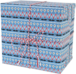 "Wrapping Paper ""Nutcracker Pattern"" (3 sheets)"