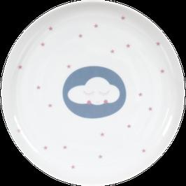 """Porcelain Plate """"Cloud"""""""