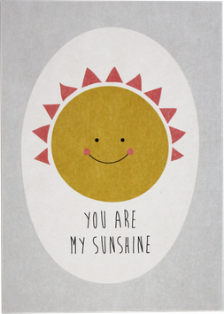 "Postcard ""You are my sunshine"""