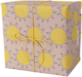 "Wrapping Paper ""Sun"" (3 sheets)"