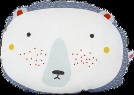 "Mini-Cushion ""Bear"", white"