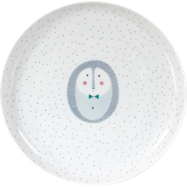"""Porcelain Plate """"Hedgehog"""""""