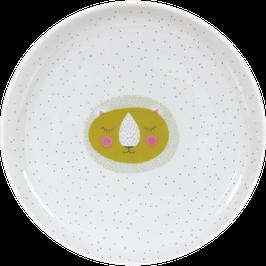 """Porcelain Plate """"Lion"""""""