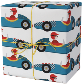 "Wrapping Paper ""Racing Car"" (3 sheets)"