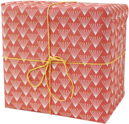 """Wrapping Paper """"Bunch"""", red (3 sheets)"""