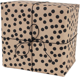 """Wrapping Paper """"Dots"""", nude (3 sheets)"""