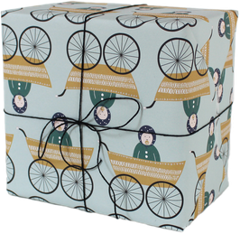 "Wrapping Paper ""Baby Boy"" (3 sheets)"