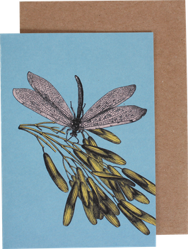 "Greeting Card ""Dragonfly"""