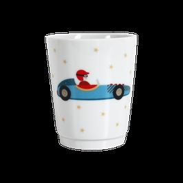"""Porcelain Mug """"Racing Car"""""""