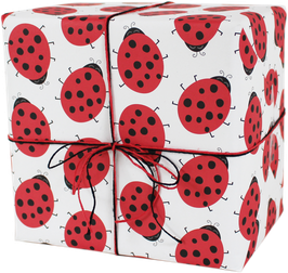 """Wrapping Paper """"Ladybug"""" (3 sheets)"""