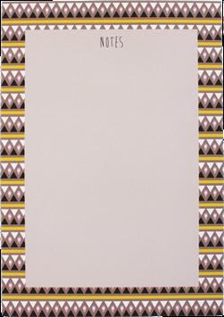 """Writing Pad """"Drops"""", A5 (50 sheets)"""