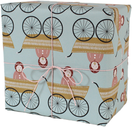 "Wrapping Paper ""Baby Girl"" (3 sheets)"