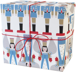"Wrapping Paper ""Nutcracker and Angel"" (3 sheets)"