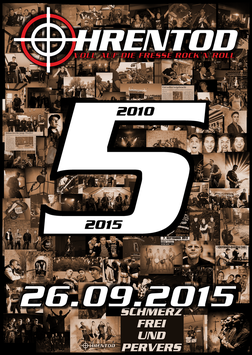 "Poster ""5 Jahre OhrenTod"""