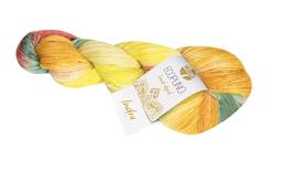 Ecopuno Hand - Dyed Farbe 508 Indra, Edles Garn aus Baumwolle mit Merino und Alpaka