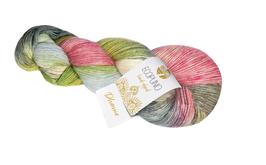 Ecopuno Hand - Dyed Farbe 510 Pharma, Edles Garn aus Baumwolle mit Merino und Alpaka