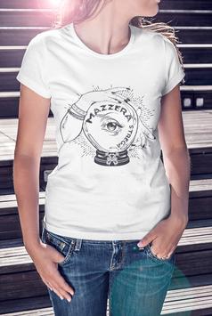 T-shirt femme Mazzera